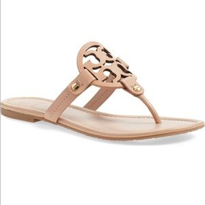 Tory Burch Miller Make up leather sandals 8.5